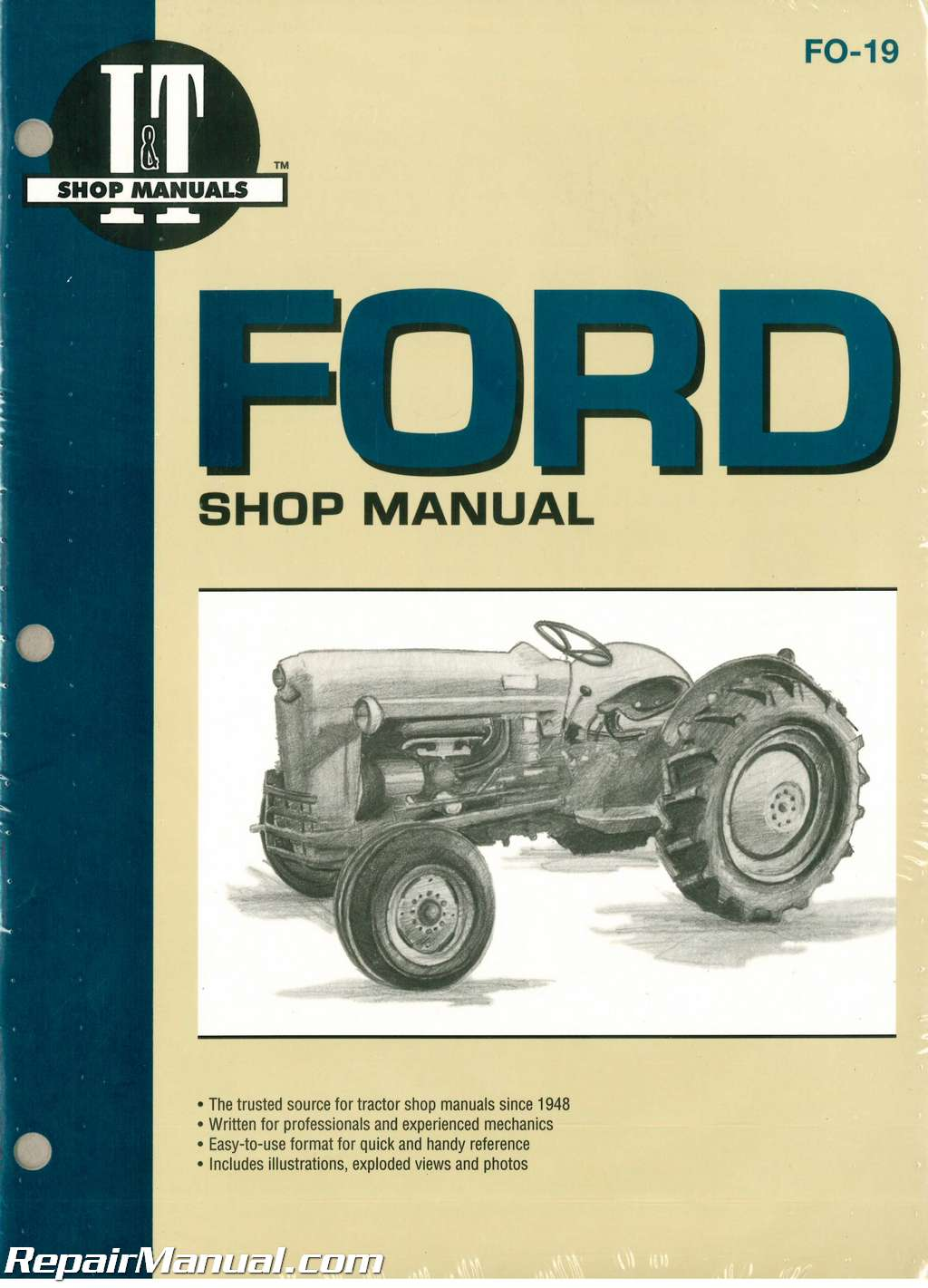 ford new holland naa golden jubilee tractor repair manual rh repairmanual com 1953 Ford Golden Jubilee Tractor Parts Golden Jubilee Ford Tractor Sherman