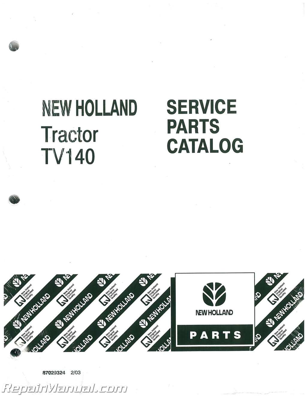 ford new holland tv140 dsl bidirectional 4wd tractor parts manual rh repairmanual com new holland parts manual for tc30 tractor new holland parts catalog ngpc