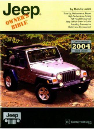 CJ Cherokee Pickup Jeep Owners Bible