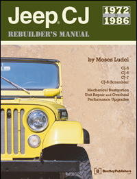 Jeep CJ Rebuilders Manual 1972-1986