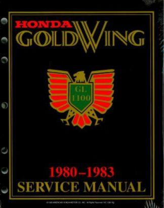 1980-1983 Honda GL1100 Gold Wing Factory Service Manual