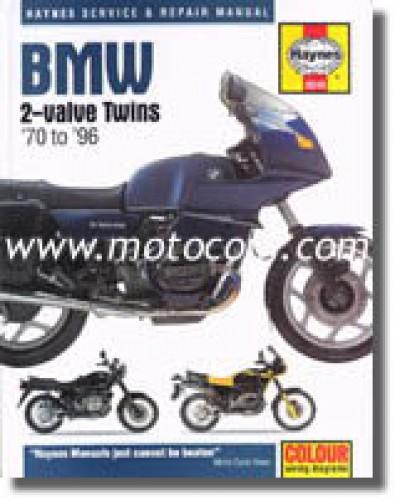 haynes bmw 2-valve twin 1970-1996 repair manual