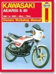 Haynes Kawasaki AR50 80 1981-1995 Repair Manual