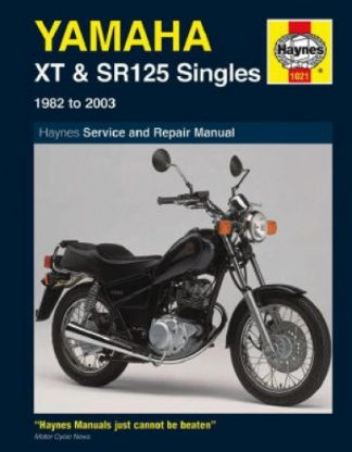 Haynes Yamaha XT125 SR125 Singles 1982-2003 Repair Manual