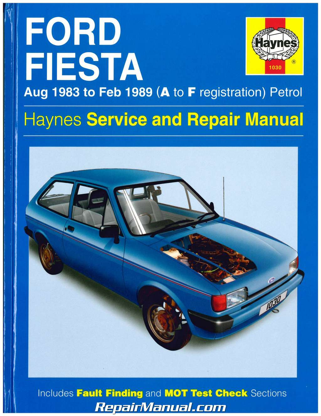 haynes 1983 1989 ford fiesta auto repair manual. Black Bedroom Furniture Sets. Home Design Ideas