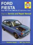 Haynes 1983-1989 Ford Fiesta Auto Repair Manual