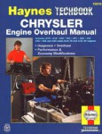 Haynes Chrysler Engine Overhaul Manual Diagnosis Performance and Economy