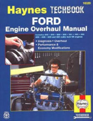 Haynes Ford Engine Overhaul Manual Diagnosis Performance and Economy