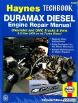 Haynes Duramax Diesel Engine Techbook for 2001-2012 Chevrolet GMC Trucks Vans 6.6 liter 402 cu in Turbo Diesel