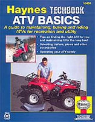 Haynes ATV Repair Service Basics Techbook