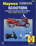 Haynes Scooters Techbook Automatic Transmission 50 to 250cc