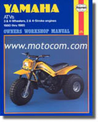 Haynes Yamaha 3 Wheeler and ATV 1980-1985 Repair Manual 1