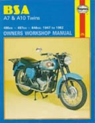 Haynes BSA A7 A10 Twins 1947-1962 Owners Workshop Manual