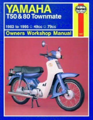 Haynes 1983-1995 Yamaha T50 T80 Townmate Repair Manual