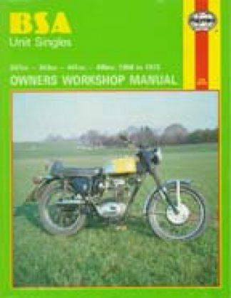 Haynes BSA Unit Singles 1958-1972 Owners Workshop Manual
