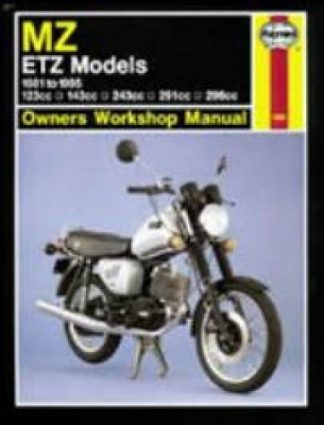Haynes 1981-1995 MZ ETZ Repair Manual