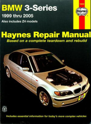 1999 2005 bmw 3 series z4 325ci 330c haynes car repair manual. Black Bedroom Furniture Sets. Home Design Ideas