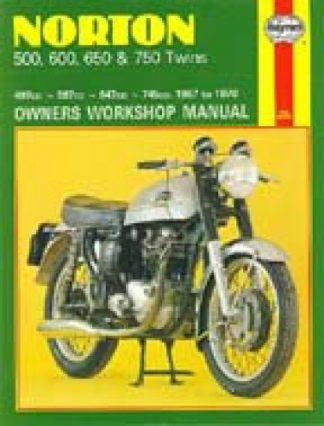 Haynes Norton Twins 1957-1970 Owners Workshop Manual