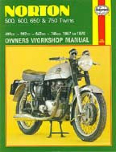 Haynes Norton Twins 1957-1970 Owners Workshop Manual