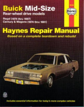 Haynes Buick Mid-size RWD 1974-1987 Auto Repair Manual
