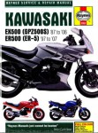 Haynes Kawasaki EX500 Ninja 500 ER500 1987-2008 Repair Manual