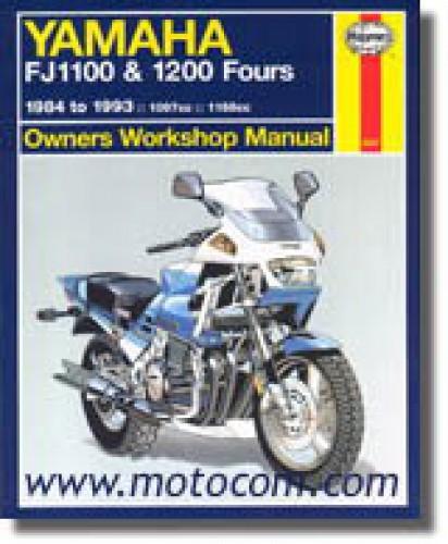used 1984 1993 yamaha fj1100 fj1200 fj1200a motorcycle repair manual rh repairmanual com Yamaha FJ1200 Top Speed Yamaha FJ1100 Specs