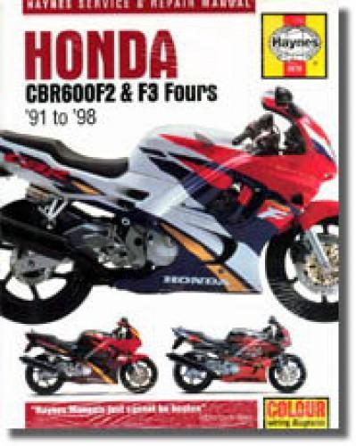 Haynes Honda CBR600F2 F3 Fours 1991-1998 Repair Manual