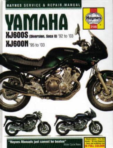 yamaha xj600s diversion  seca ii haynes service  u0026 repair