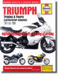 Haynes Triumph 750 900 Triples 1200 Fours 1991-2004 Repair Manual