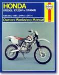 Haynes Honda XR250L XR250R XR 400R 1986-2003 Repair Manual
