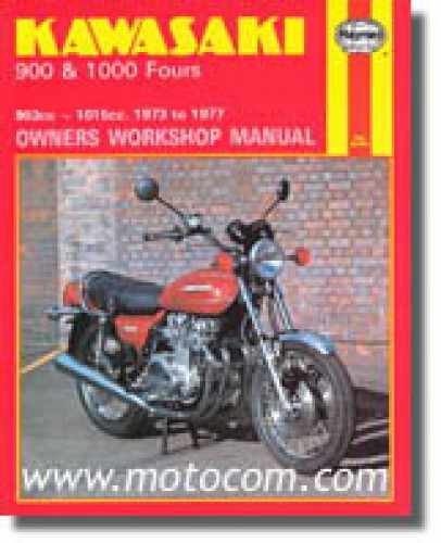haynes kawasaki z1 kz900 1000 fours 1973 1977 motorcycle owners workshop manual. Black Bedroom Furniture Sets. Home Design Ideas