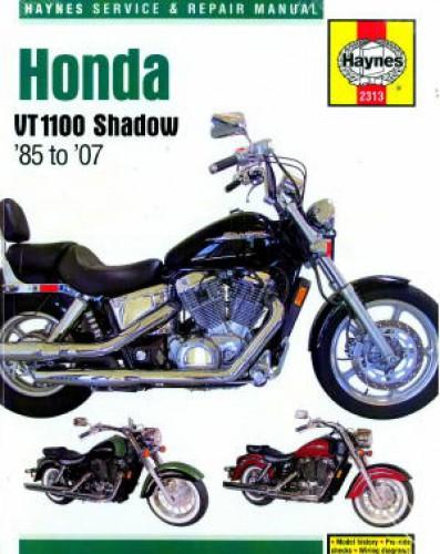 Honda Shadow Vt1100 1985