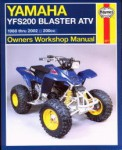 Haynes Yamaha YFS200 Blaster 1988-1998 Repair Manual