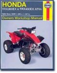 Haynes Honda TRX300EX TRX400EX 1993-2006 Repair Manual