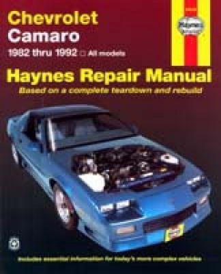 Haynes Chevrolet Camaro 1982-1992 Auto Repair Manual