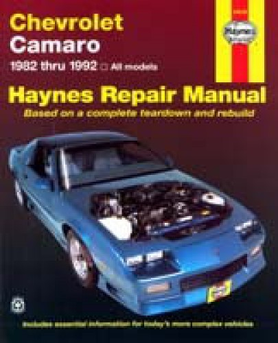 Haynes Chevrolet Camaro 1982-1992 Auto Repair Manual