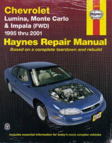 haynes chevrolet lumina monte carlo impala 1995 2005 auto repair manual rh repairmanual com chevrolet lumina repair manual chevrolet lumina repair manual download