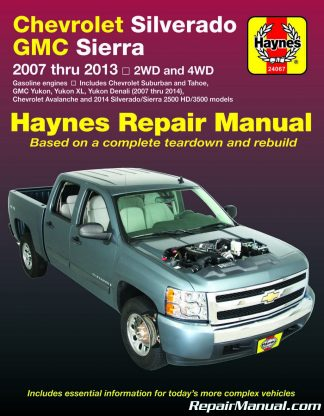chevrolet automobile manuals repair manuals online rh repairmanual com GMC Envoy Repair Manual PDF chilton auto repair manual-gmc sierra