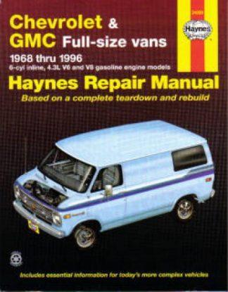 Haynes Chevrolet GMC Full-size Vans 1968-1996 Auto Repair Manual