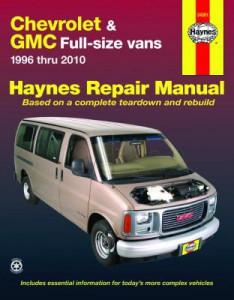 chevrolet express gmc savana haynes repair manual 1996. Black Bedroom Furniture Sets. Home Design Ideas