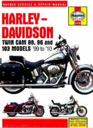 Haynes Harley-Davidson Twin Cam 88 and 96 1999-2010 Repair Manual