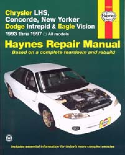 Chrysler Lhs Concorde New Yorker Repair Manual 1993