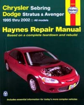 Haynes Chrysler Sebring and Dodge Stratus Avenger 1995-2006 Auto Repair Manual