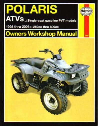 Polaris Repair Manual for Big Boss 6x6, Magnum, Scrambler, Sportsman, Trail Blazer, Trail Boss, Xplorer, Xpress 1998-2007 by Haynes