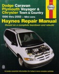 Haynes Dodge Caravan Plymouth Voyager Chrysler Town Country Mini-Vans 1996-2002 Repair Manual