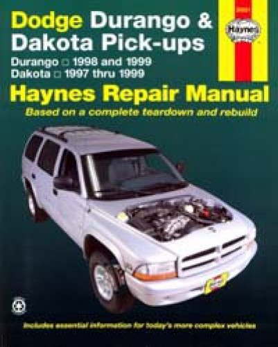 Haynes Dodge Dakota Pick-Ups 1997-1999 Auto Repair Manual
