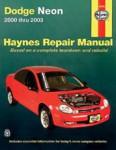 Haynes Dodge Neon 2000-2003 Auto Repair Manual