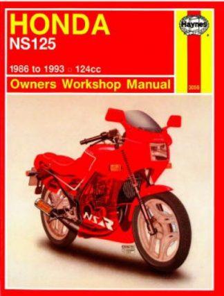 Haynes Honda NS125 1986-1993 Owners Workshop Manual