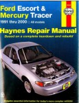 1991-2002 Ford Escort, 1991-1999 Mercury Tracer Automobile Repair Manual by Haynes