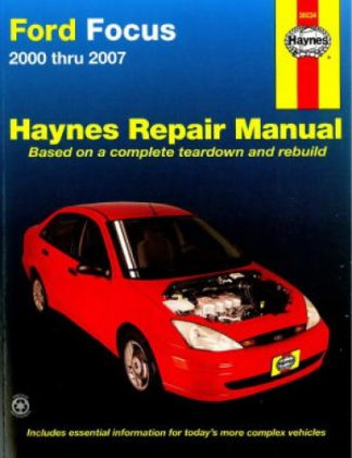 Haynes Ford Focus 2000-2011 Auto Repair Manual